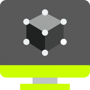 3D Modelling Icon Image
